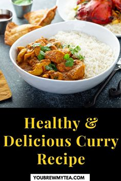These eight healthy and delicious curry recipes by You Brew My Tea will leave you wanting more! Whether you like vegetable curries, or chicken curries, these recipes are easy and effortless to make. You Brew My Tea have made it their mission to provide you with health tips and recipes, so check out their delicious curry suggestions now! #curryrecipe #easyandhealthyrecipes #healthycurryrecipes #homemadecurry