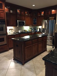 French Country Kitchens, Granite, Kitchen Ideas, Granite Counters