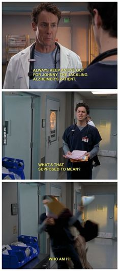 Scrubs is the best show ever Funny Cute, The Funny, Hilarious, Funny Pics, Funny Jokes, Funny Minion, Funny Images, Best Tv, The Best
