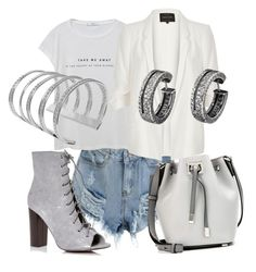 """""""~"""" by liana-van-neunberg ❤ liked on Polyvore featuring MANGO, Michael Kors and River Island"""