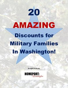 Bringing the BEST of Washington To Military Families