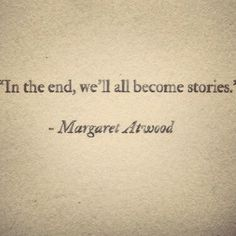 In the end......
