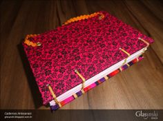 Caderno Artesanal Copta - verso