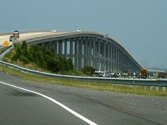 """The Bridge to the Outer Banks- When you ride on it you can hear """"The Beach, The Beach, The Beach!..."""""""