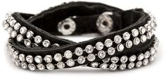 Pearls + Spikes Stretch Bracelet