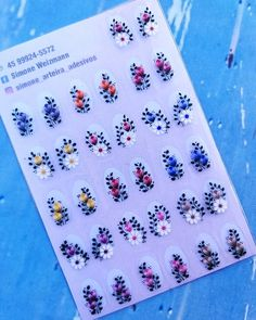 Bling Nails, Napkins, Stickers, Tableware, Anna, Cool Easy Nail Designs, Nail Bling, Adhesive, Nail Manicure