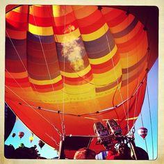 #hotairballoon #balloonfiesta #albuquerque #abq  (at Albuquerque International Balloon Fiesta)
