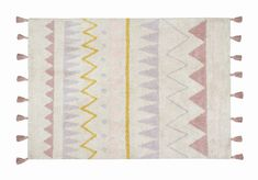 Lavender Rugs for Nursery Awesome Washable Azteca Rug Vintage Blush – Curated Nest Nurseries & Design