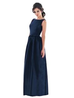 Navy Bridesmaid dress- I would love a dress like this that was to the knee, just for everyday