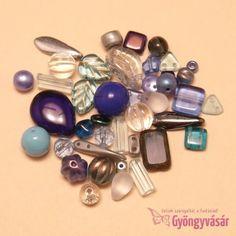 Kék vegyes cseh gyöngy, 15 g • Gyöngyvásár.hu Beaded Bracelets, Jewelry, Fashion, 1st Grades, Moda, Jewlery, Jewerly, Fashion Styles, Pearl Bracelets