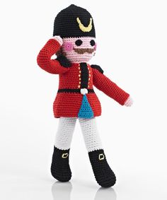 Once Upon a Time Crochet Nutcracker Soldier