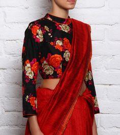 Divya Kanakia - silk sari