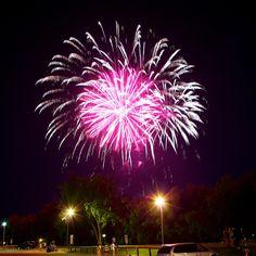 Canada Day Fireworks at The Forks by AJ Batac, via Flickr
