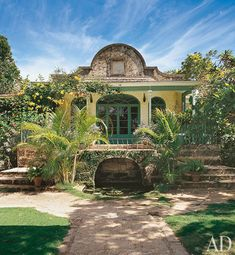 Barbados home, from Architectural Digest