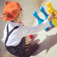 • N I C K . Z O O T O P I A v i n t a g e . s t y l i n g 狐狸尼克 。复古装 • ~ Nick Wilde Beret by @cat_at_roof  • ▽・x・▽ WinnieTriplets.com • #fashion  #winnietripletsfashion #kidsfashion #cute  #style  #boy  #toddlerstyle #toddlerfashion #boyfashion  #zootopia  #vintage   #小孩  #北欧  #可爱  #男の子  #ig_baby  #かわいい  #きれい  #ig_kids  #ig_oyabakabu #子供