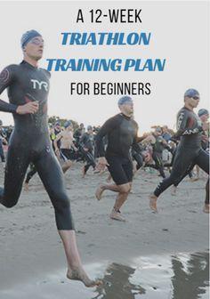 Olympic Triathlon Training Plan, Marathon Training, Half Ironman Training Plan, Triathlon Women, Triathlon Gear, Ironman Triathlon Motivation, Cycling For Beginners, Workout For Beginners, Zumba