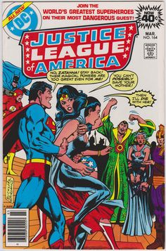 Justice League of America DC Comics #164 Vol1 VF 8.0