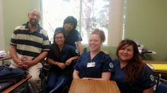 Pharmacy Students with Doctor Jimmy their instructor