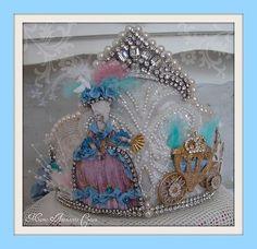 Marie Antoinette Crown by Treasured Heirlooms, via Flickr