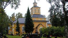 Karijoki Bötom Lutheran church, South Ostrobothnia province of Western Finland. - Etelä-Pohjanmaa.