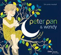 Peter Pan jazzy, dans l'excellente collection de livres-CD de Didier Jeunesse, et superbement illustré.