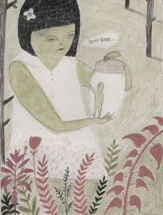 Soft, supersweet illustrations by Melissa Castrillon. On the blog today! http://www.artisticmoods.com/melissa-castrillon/