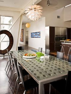 Contemporary Dining-rooms from Velvet Hammerschmidt on HGTV