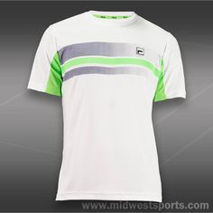 Fila Collezione Printed Crew Neck-White Tennis Shirts, Tennis Clothes, White Man, Crew Neck, Printed, Mens Tops, T Shirt, Jackets, Shopping
