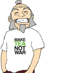 The Smile Of Satisfaction—good job Uncle Iroh :D (Avatar: The Last Airbender tv show)