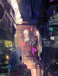 Amaury Bundgen art - City of Light