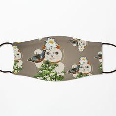 Cat Mask, Maneki Neko, Blue Butterfly, Fashion Room, Mask Design, Mask For Kids, Bonsai, Vintage Designs, Cool Designs