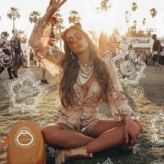 Ideas for Effortless Bohemian Lifestyle Hippie Style, Bohemian Style, Boho Chic, Bohemian Lifestyle, Bohemian Gypsy, Desert Festival, Bohostyle, White Henna, Festival Outfits