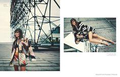 Alison Nix in Cool Prints for Bazaar Mexico by Riccardo Vimercati