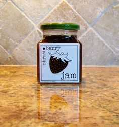 """I LOVE these labels!!!! """"These handmade jam labels put an elegant finishing touch on your preserves or make a great gift."""""""
