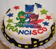 Resultado de imagen para torta pj mask