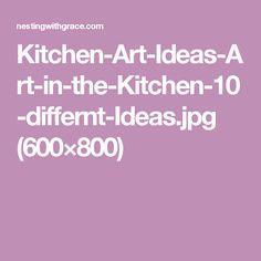 Kitchen-Art-Ideas-Art-in-the-Kitchen-10-differnt-Ideas.jpg (600×800)