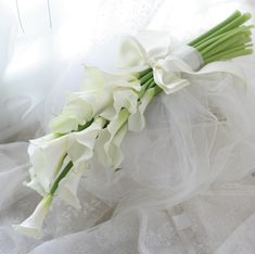 アームブーケ カラーの花を束ねて : 一会 ウエディングの花