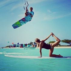 yoga + surf @Kat Ellis Bock were actually doing this next summerrrr