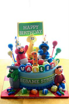 Sesame Street cake - Best ever birthday cake!!