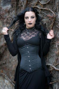 Beautiful Gothic woman