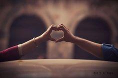 Unity of 2 hearts.. #knots and vows #wedding photography #wedding photographer #mumbai wedding photographer #hearts #pre wedding shoot