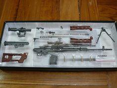 SVD Sniper Rifle 1/6 Metal