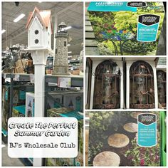 Create the Perfect Summer Garden - You can find most of your garden needs at @bjswholesale - from soil to garden decor! They have it all. Check out my finds! #Garden #Ad