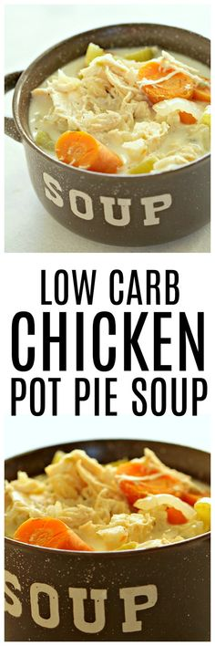 Low Carb Chicken Pot Pie Soup – Six Sisters' Stuff