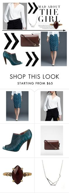 """StyleWe 46"" by abecic ❤ liked on Polyvore featuring Kershaw, Studio Pollini, Chan Luu and stylewe"
