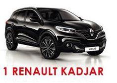 Gewinne mit Conforama einen Renault Kadjar im Wert von 22'900.-!  Zusätzlich gibt es im Wettbewerb Conforama Gutscheine im Wert von 100'000.- zu gewinnen.  Gewinne hier ein neues Auto: http://www.gratis-schweiz.ch/gewinne-einen-renault-kadjar/  Alle Wettbewerbe: http://www.gratis-schweiz.ch/