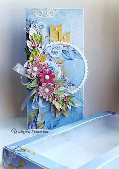 Mixed Media Cards, Quilled Creations, Quilling Cards, Flower Cards, Diy Cards, Sculpture Art, Cardmaking, Stampin Up, Birthday Cards