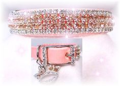 """Beautiful Collars for my dog """"Gretchen""""!"""