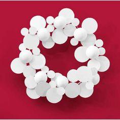 modern christmas wreaths -