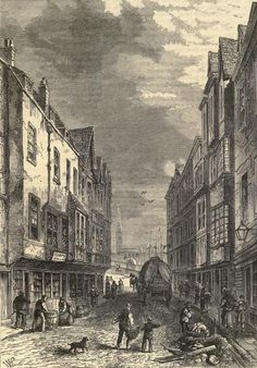 The Bridge Foot, Southwark, London 1810. A drawing or engraving, not sure which, showing the southern end of London Bridge from street level. It would probably have been much the same in Mr Wildish's time. For more information on the novel WILDISH please visit: http://www.robertstephenparry.com